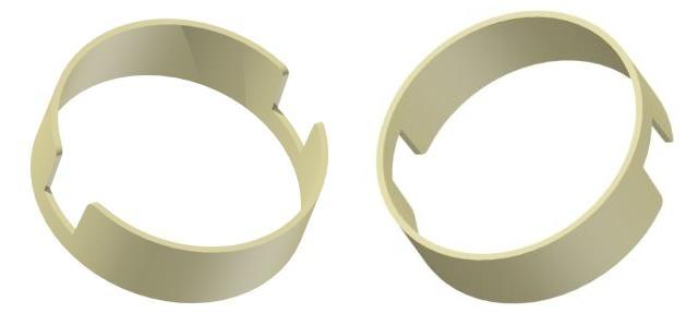 Nuevo anillo de reducción Ø 15x16 mm