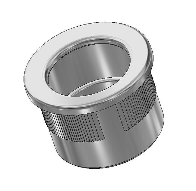 Maniglia di trascinamento d 29 mm - cromo lucido