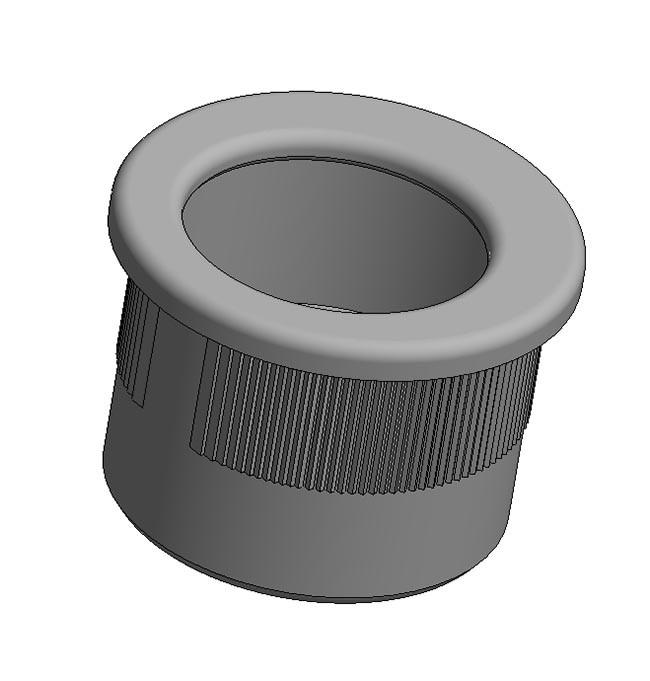Maniglia di trascinamento d 29 mm - grigio