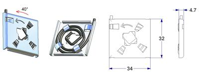 Accessori per maniglie molle ed accessori per ritorno - Cambiare maniglia porta ...