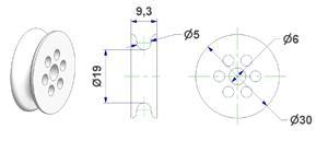 Roller d 6x30 mm