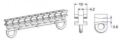 zubeh r f r gardinen gleiter atp technische artikel fur haus und industrie. Black Bedroom Furniture Sets. Home Design Ideas