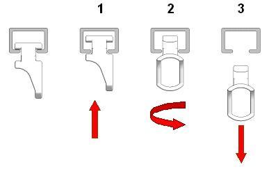 correderas deslizantes corredizos asimtricas patin para rieles perfiles decorativos de cortina aluminio accessori componenti articoli