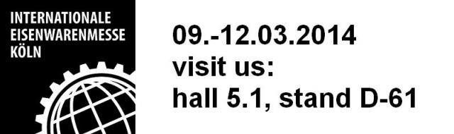 atp internatinal hardware fair Koeln Koln Colonia Colgone Internationale Eisenwarenmesse Keulen