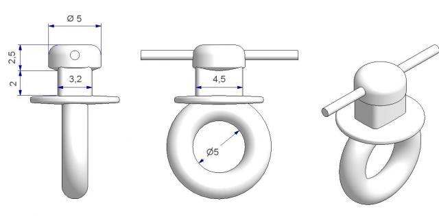 corde avec glisseur g6 pour canal troit atp articles techniques pour la maison et l 39 industrie. Black Bedroom Furniture Sets. Home Design Ideas
