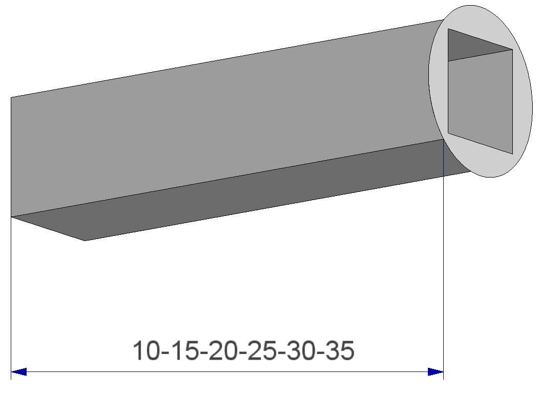 Reduction sleeve for spindle for door and window handle reduceerhuls voor deurkrukstift en raamkrukstift Stiften